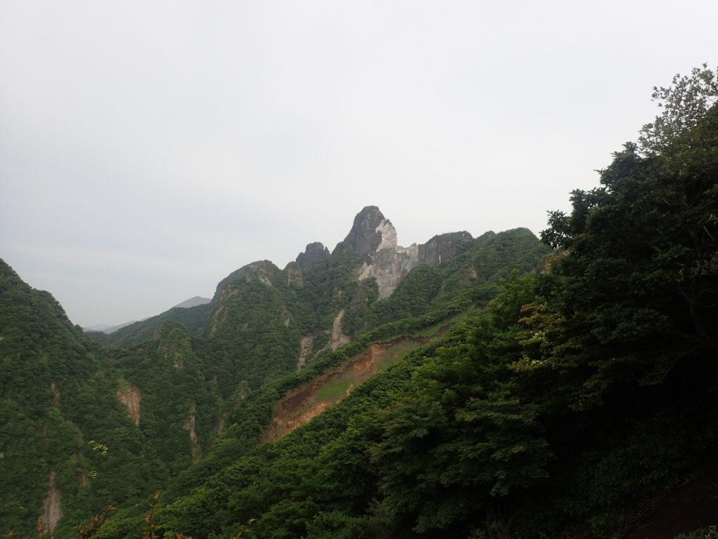 根子岳の天狗峰