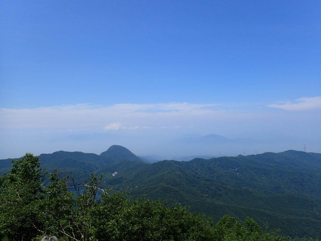 赤城山(黒檜山)の絶景スポットからの眺め