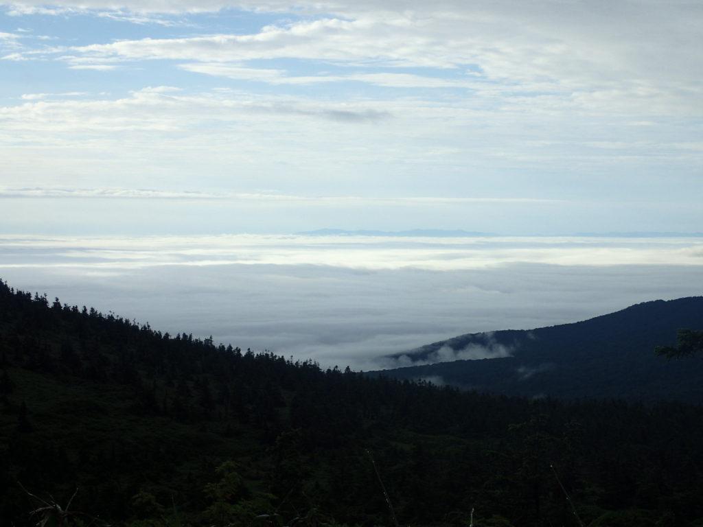 八甲田山から見る雲海