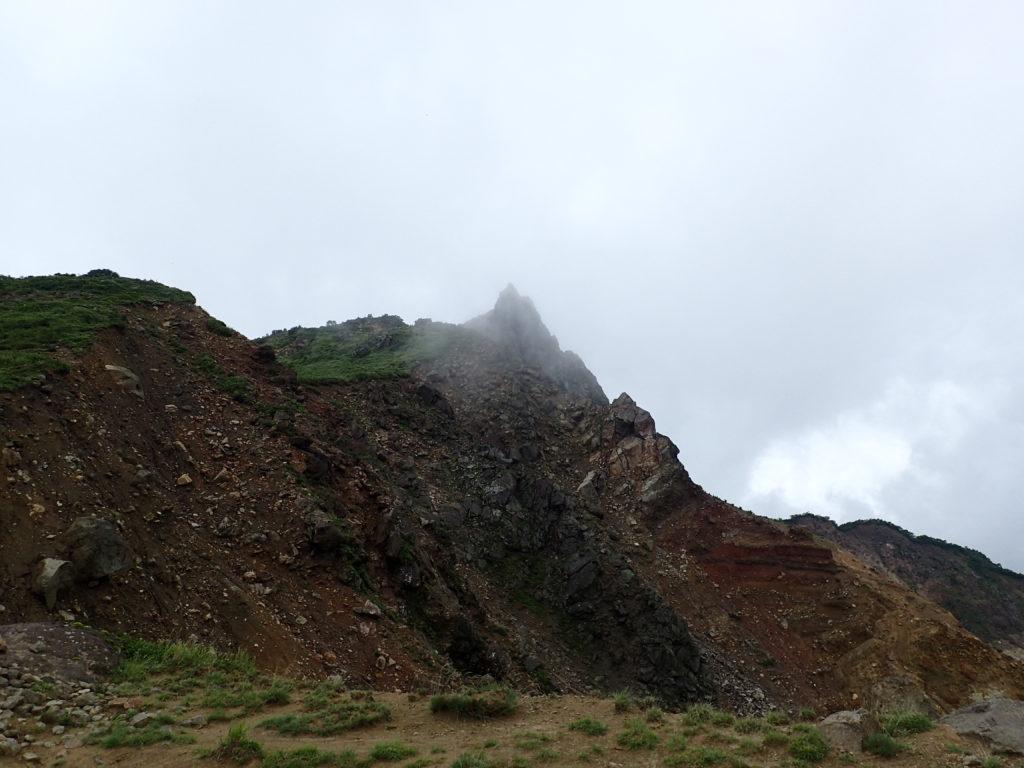 磐梯山の天狗岩
