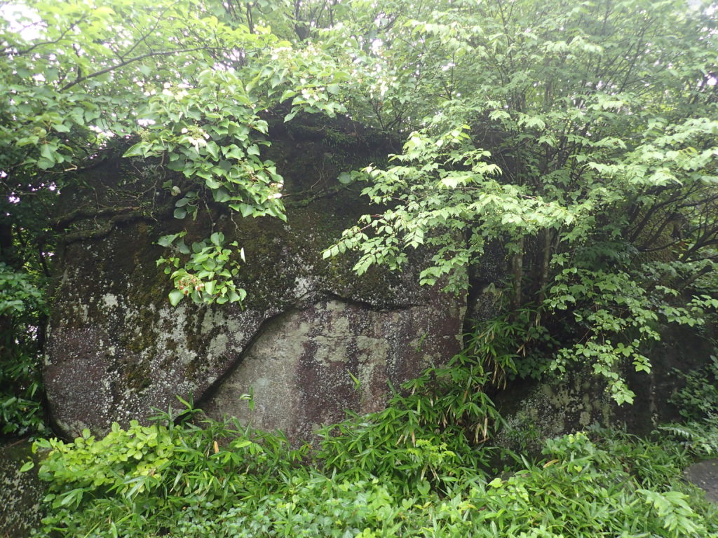 筑波山の屏風岩