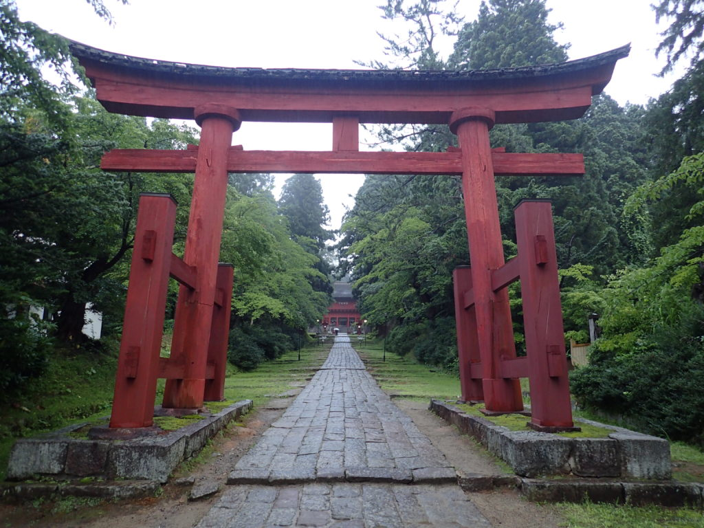 岩木山神社の鳥居