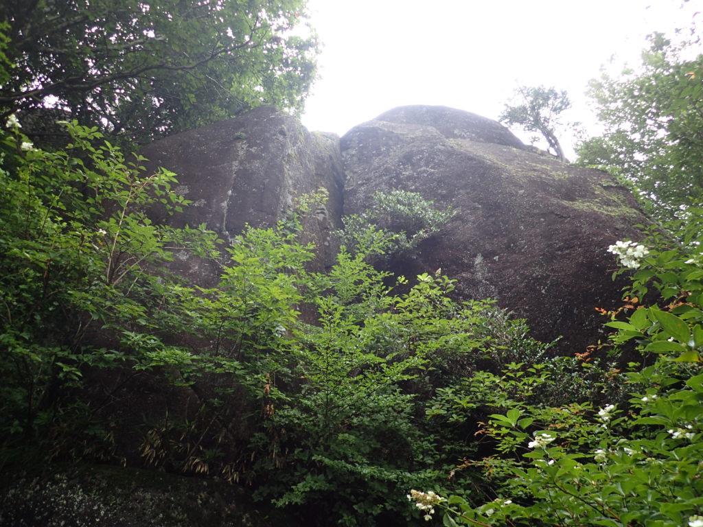 筑波山の陰陽石