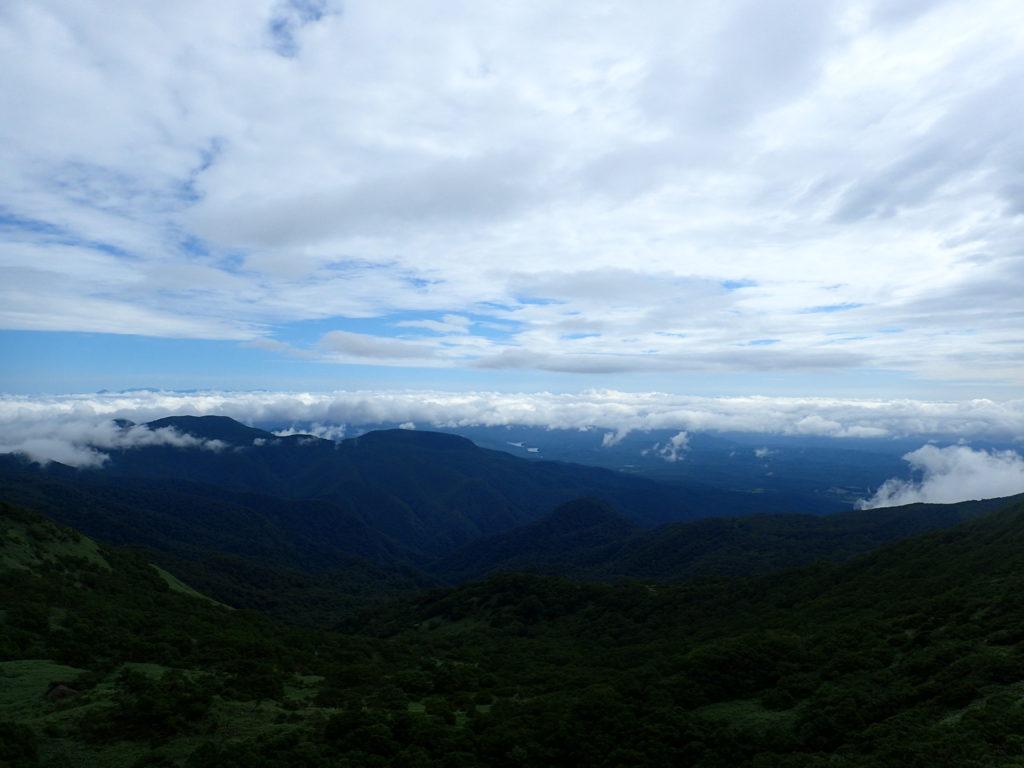 那須岳からの眺め