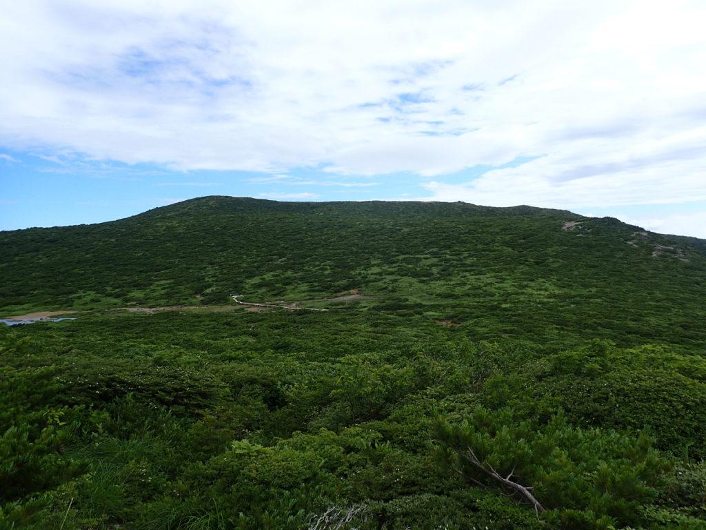 那須岳の清水平