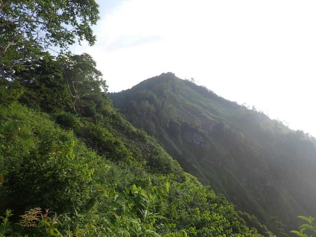 戸隠連峰の五地蔵山