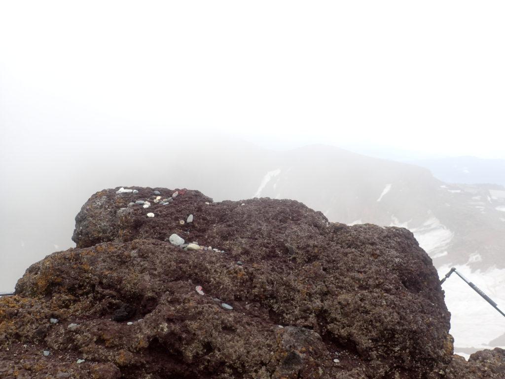 富士山の日本一高いといわれる場所