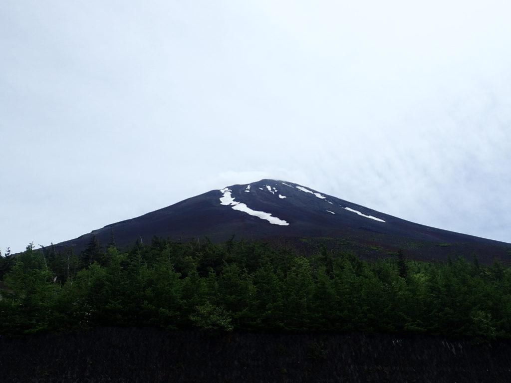 富士スバルライン5合目から見る富士山