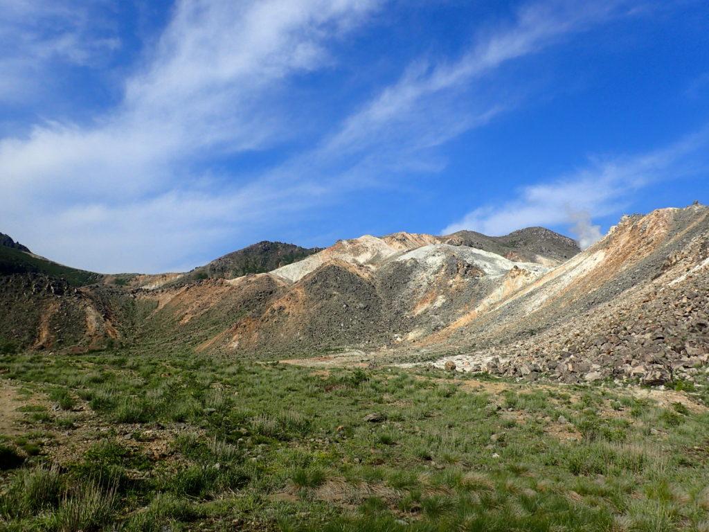 九重連山の硫黄岳