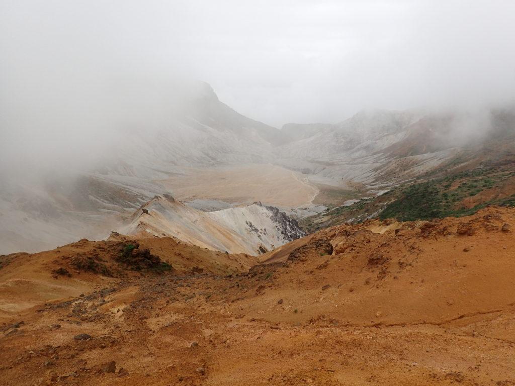 安達太良山の沼ノ平