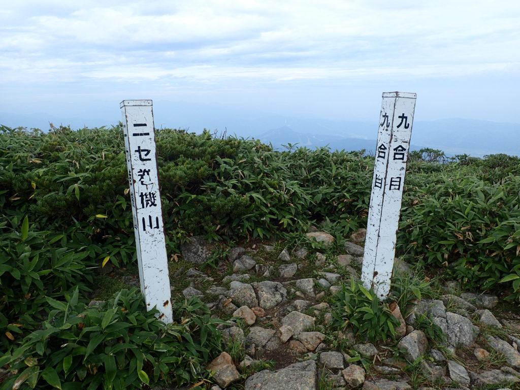 ニセ巻機山(前巻機山)