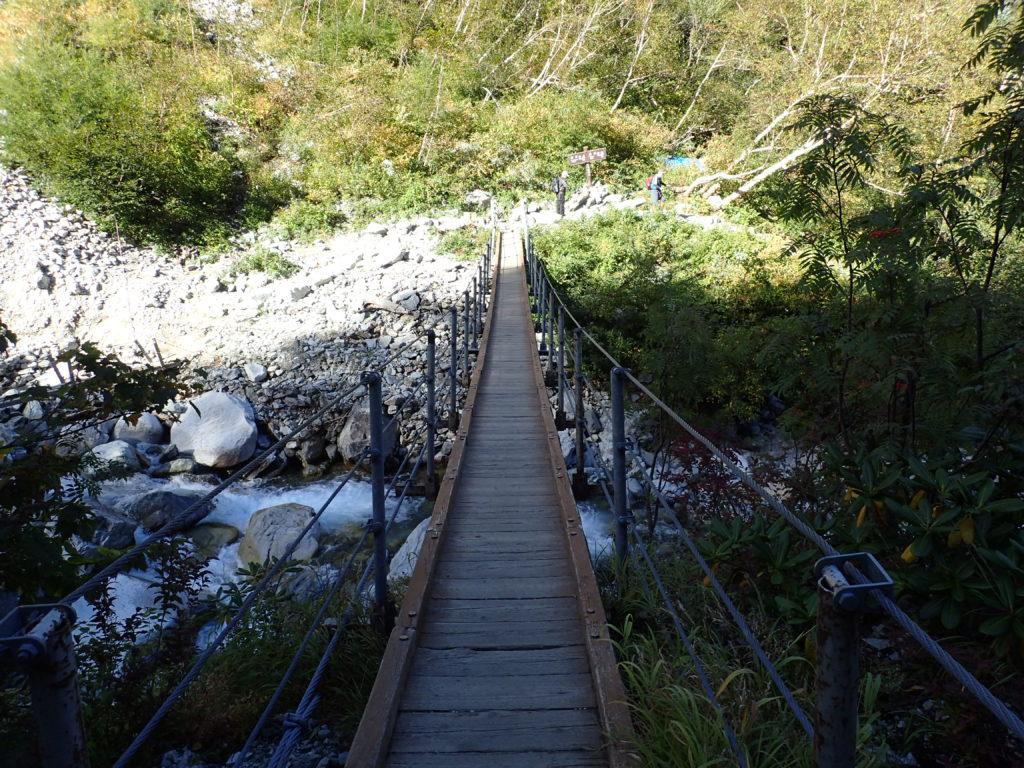 上高地の本谷橋