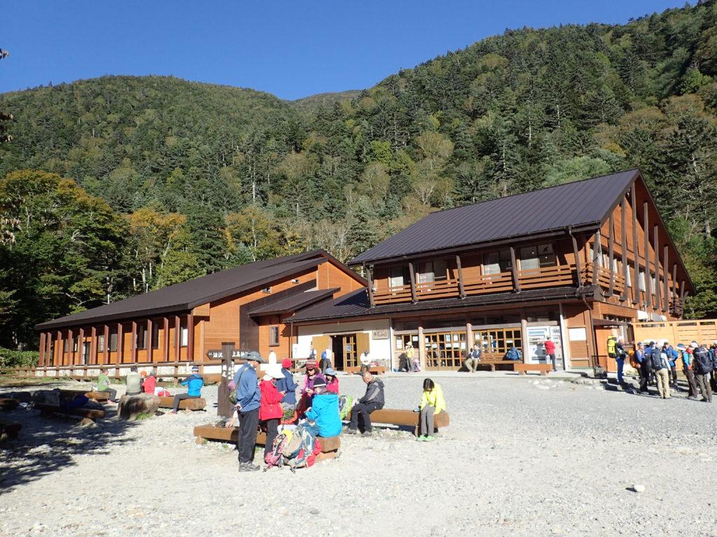 上高地の横尾山荘