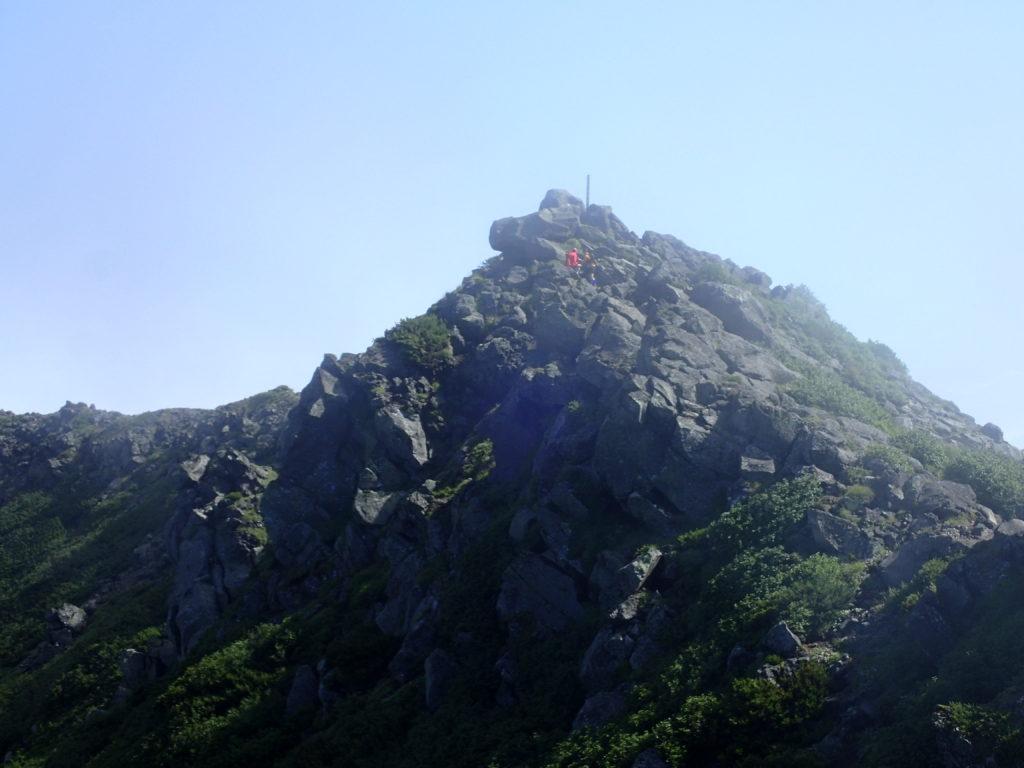 羊蹄山の山頂