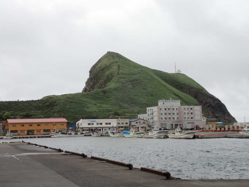 利尻島のペシ岬