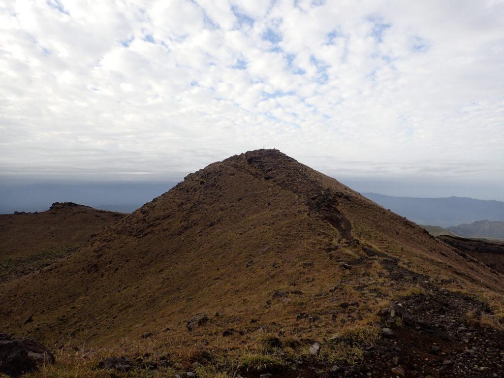 阿蘇山の高岳山頂
