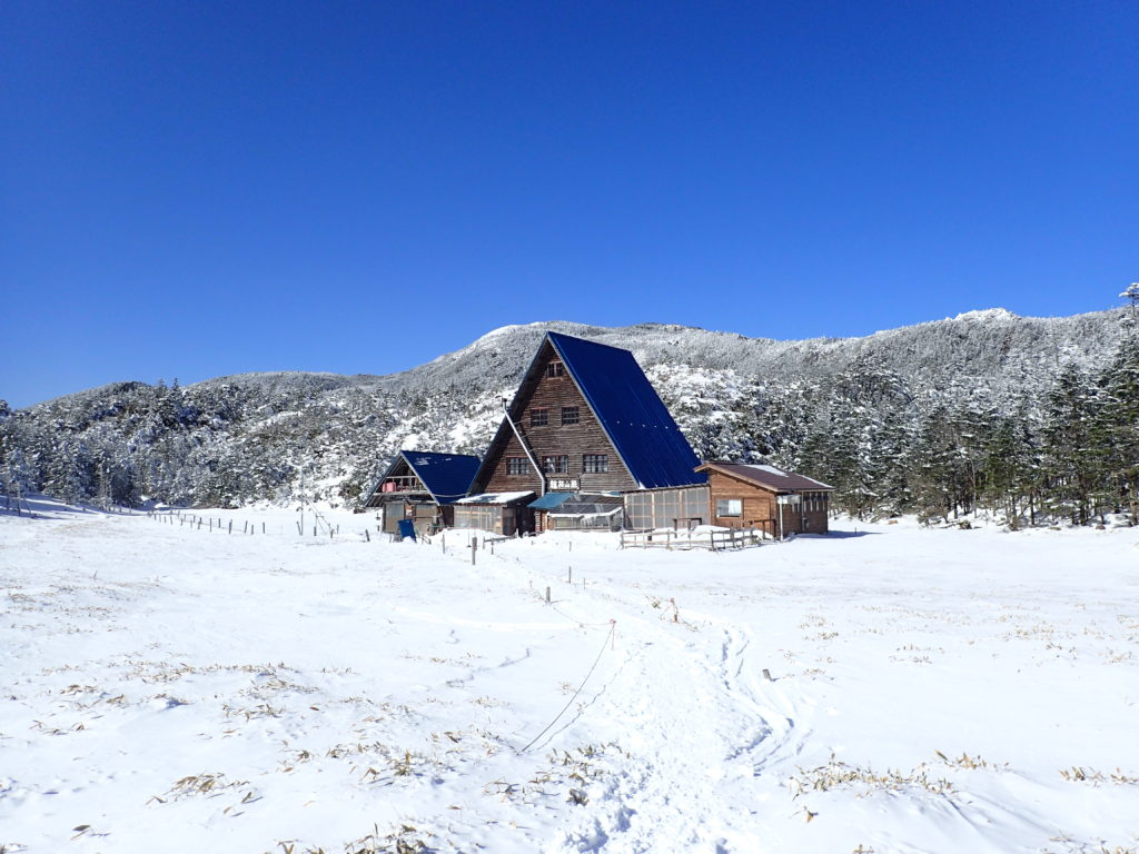 北八ヶ岳の縞枯れ山荘