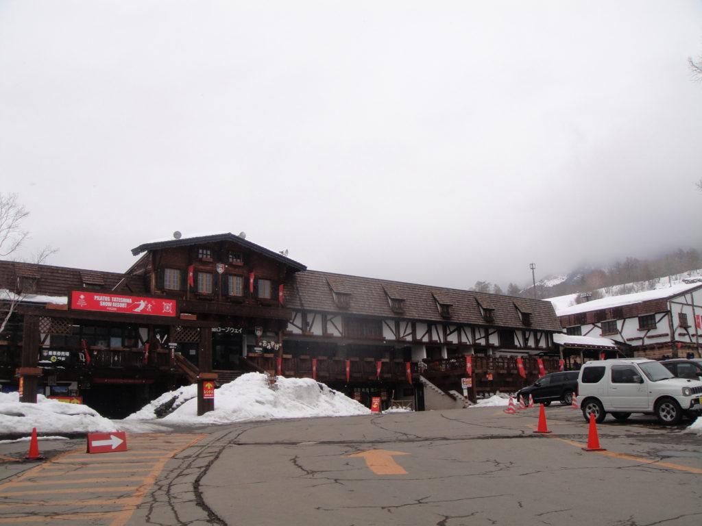 北八ヶ岳ロープウェイの山麓駅