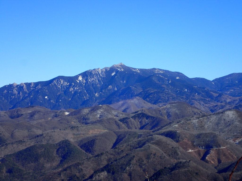 茅ヶ岳から見る金峰山