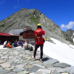 ペツルの登山用ヘルメット エリオスの使用実績