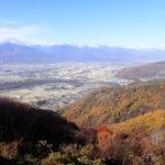 光城山・長峰山で雪山装備トレーニング(2019年11月17日)