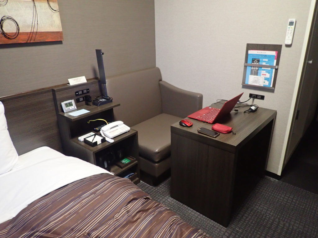 ルートインホテルの客室