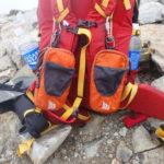 登山をする際に手の届くところに携行している重要なギアたち