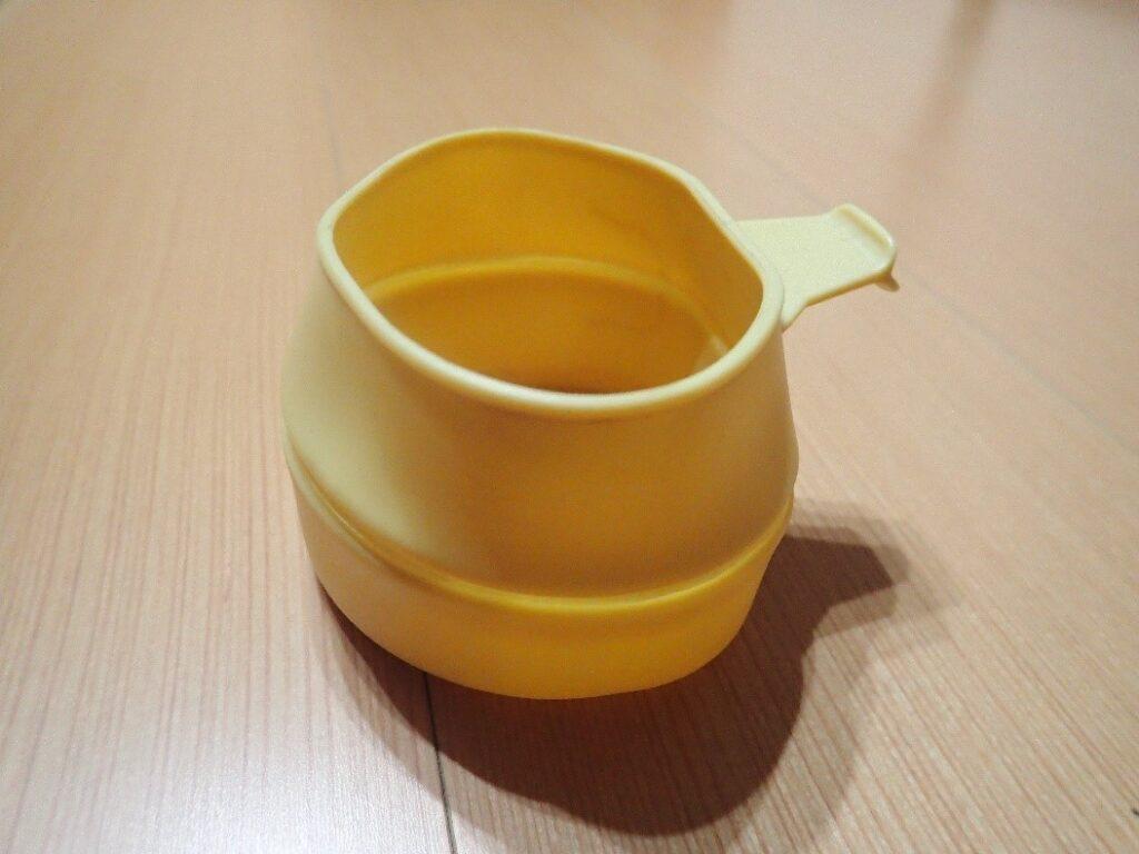 コフランの折りたたみカップであるフォールドカップ