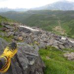 スポルティバのトレランシューズ ミュータントで軽快登山