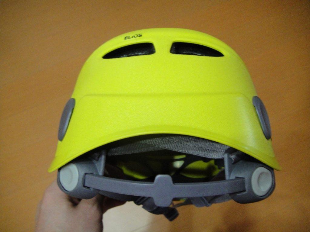 ペツルの登山用ヘルメットのエリオスのサイズ調整用ヘッドバンド