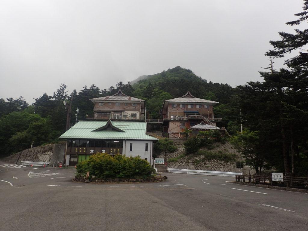 土小屋の白石ロッジ