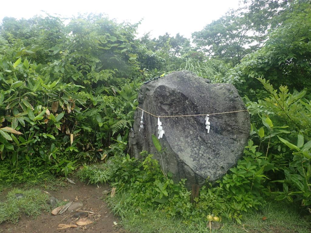 岩木山の姥石