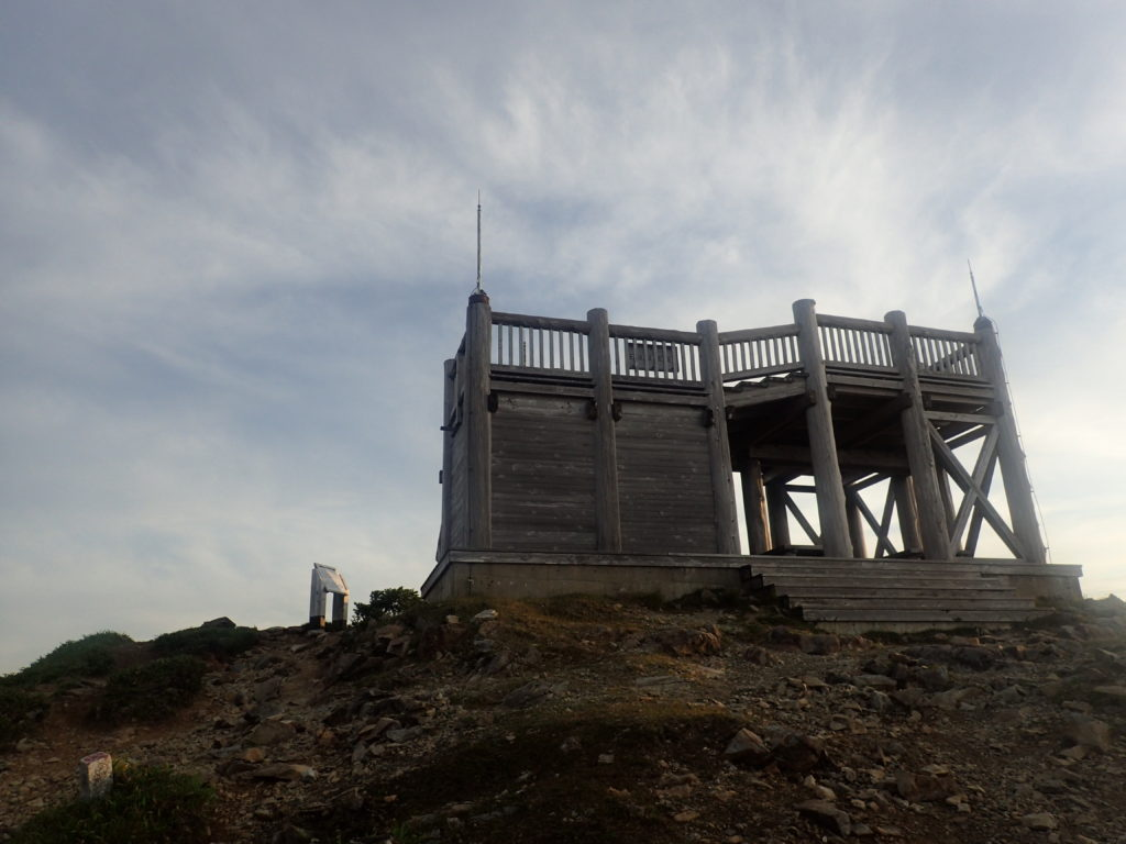 大台ヶ原山の日出ヶ岳の展望台