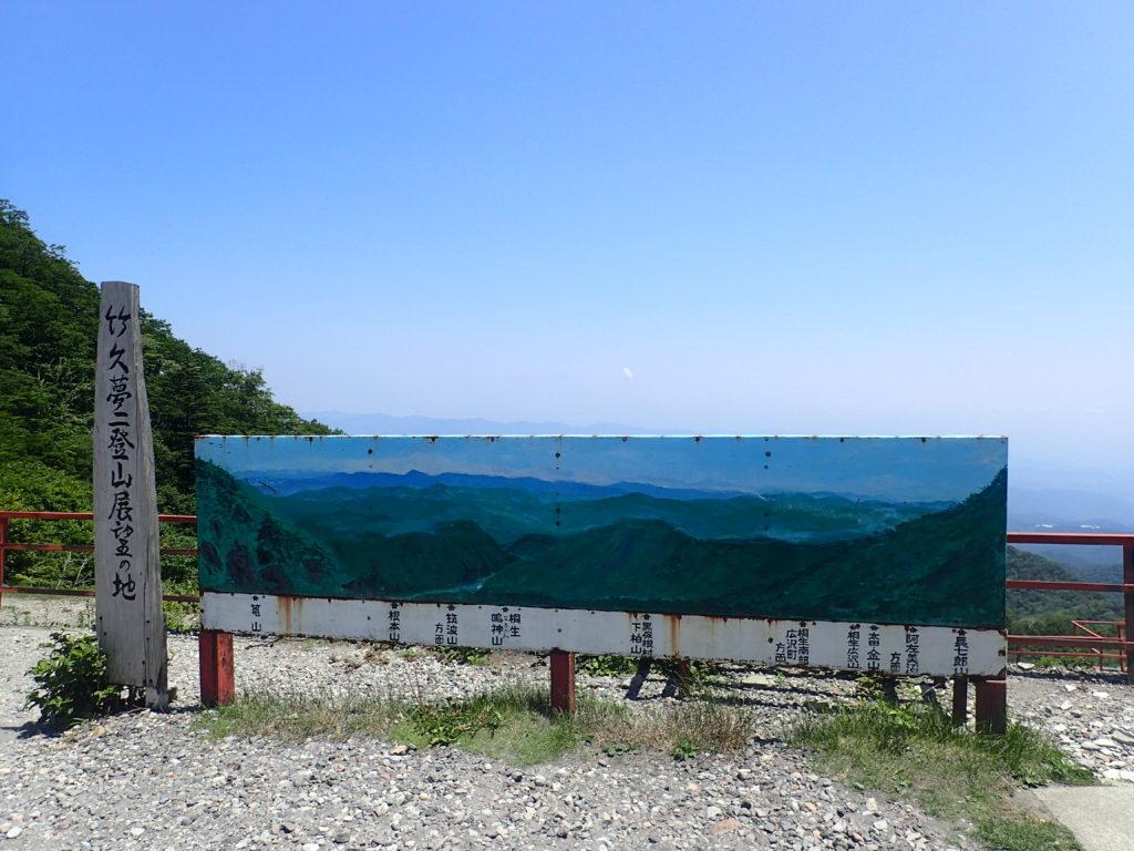 竹久夢二の登山展望の地である赤城山の鳥居峠