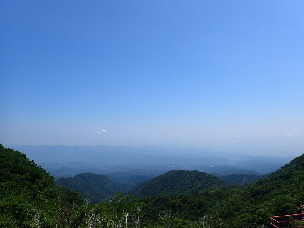 赤城山の鳥居峠からの眺め