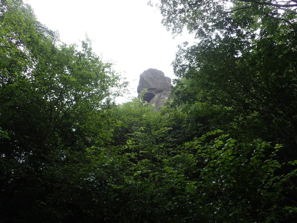 筑波山の大仏岩