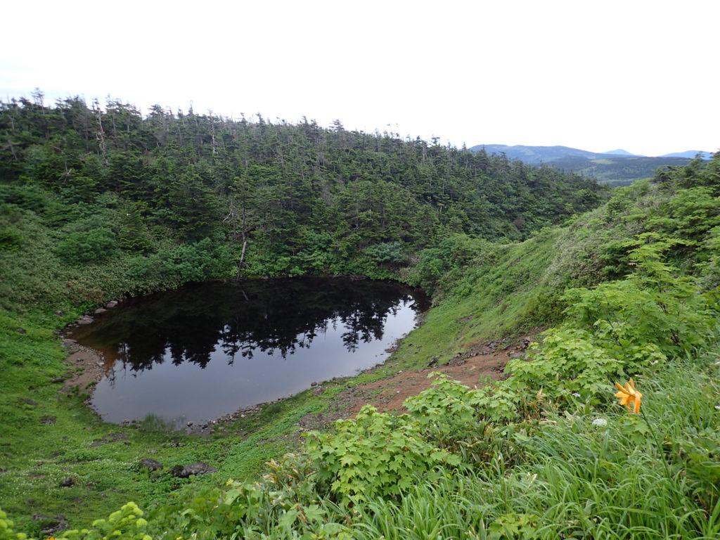 八幡平のメガネ沼