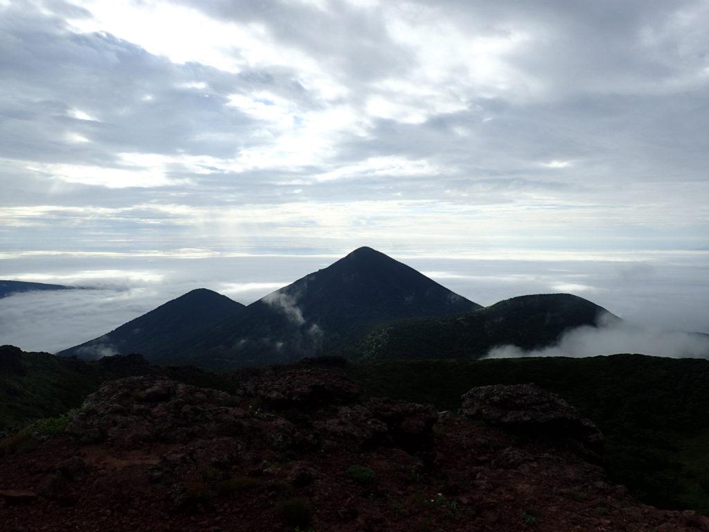 八甲田山の小岳方面