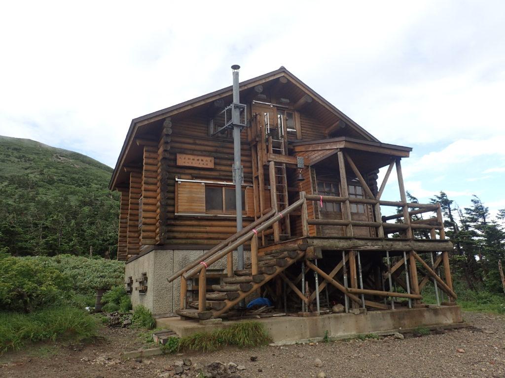八甲田山の大岳避難小屋