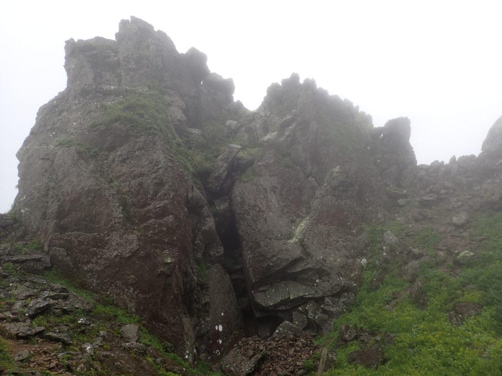 岩木山の大倉岩