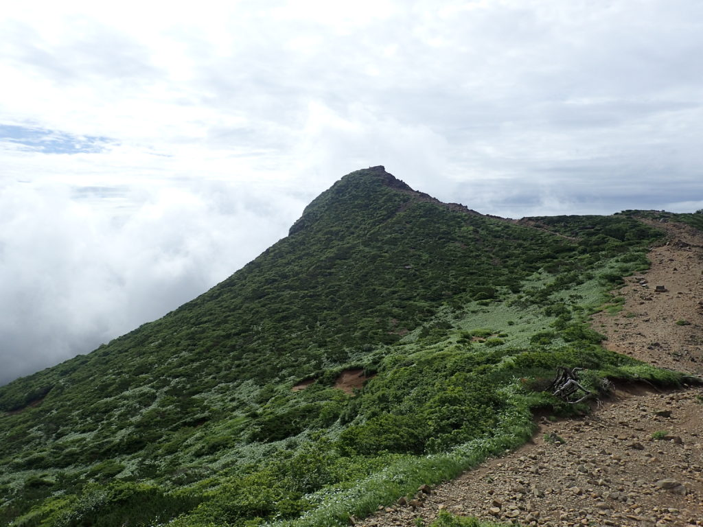 那須岳の朝日岳