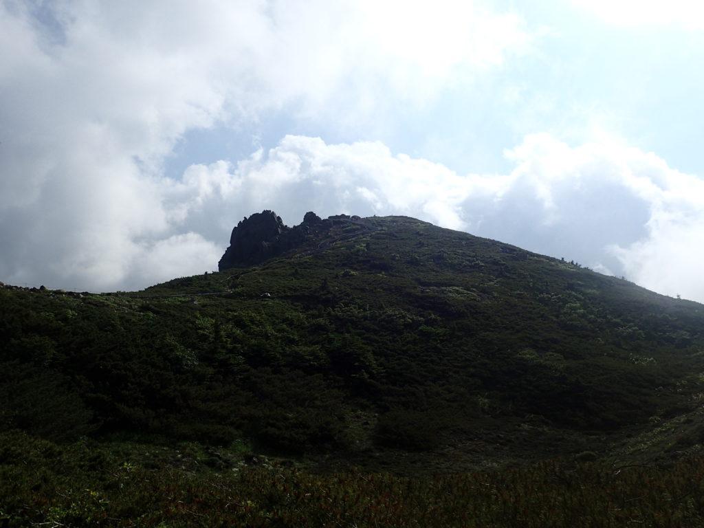 本白根山展望所を遠方から撮影