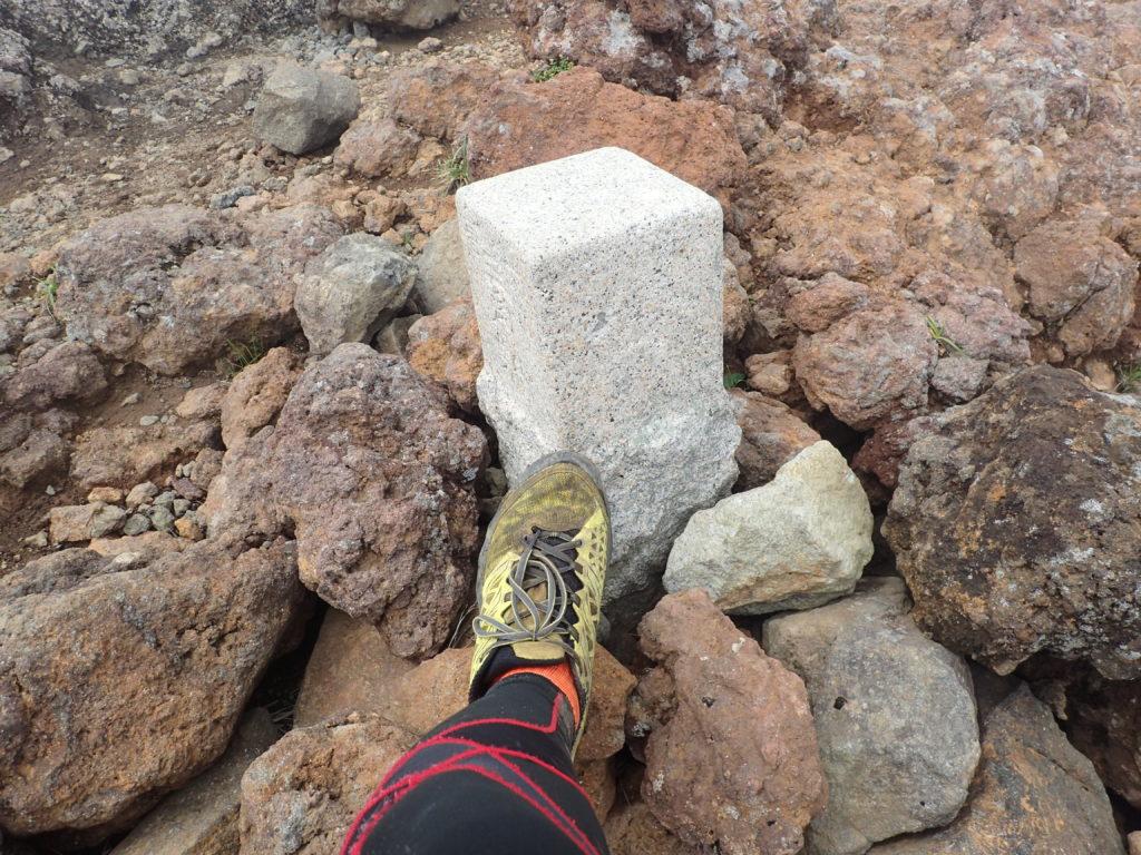 鳥海山七高山頂の三角点