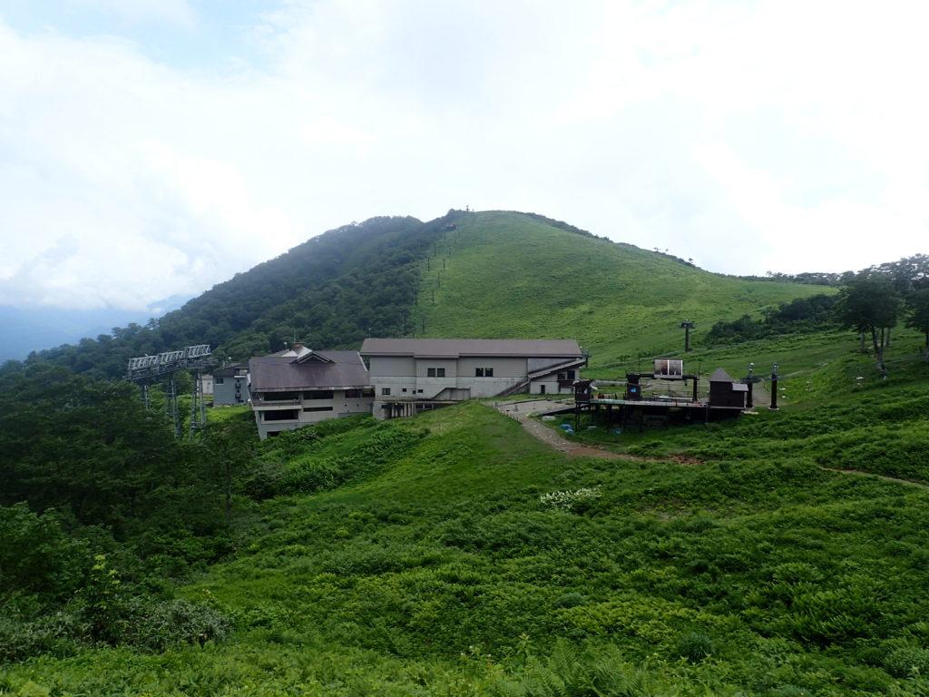 谷川岳ロープウェイの天神平駅