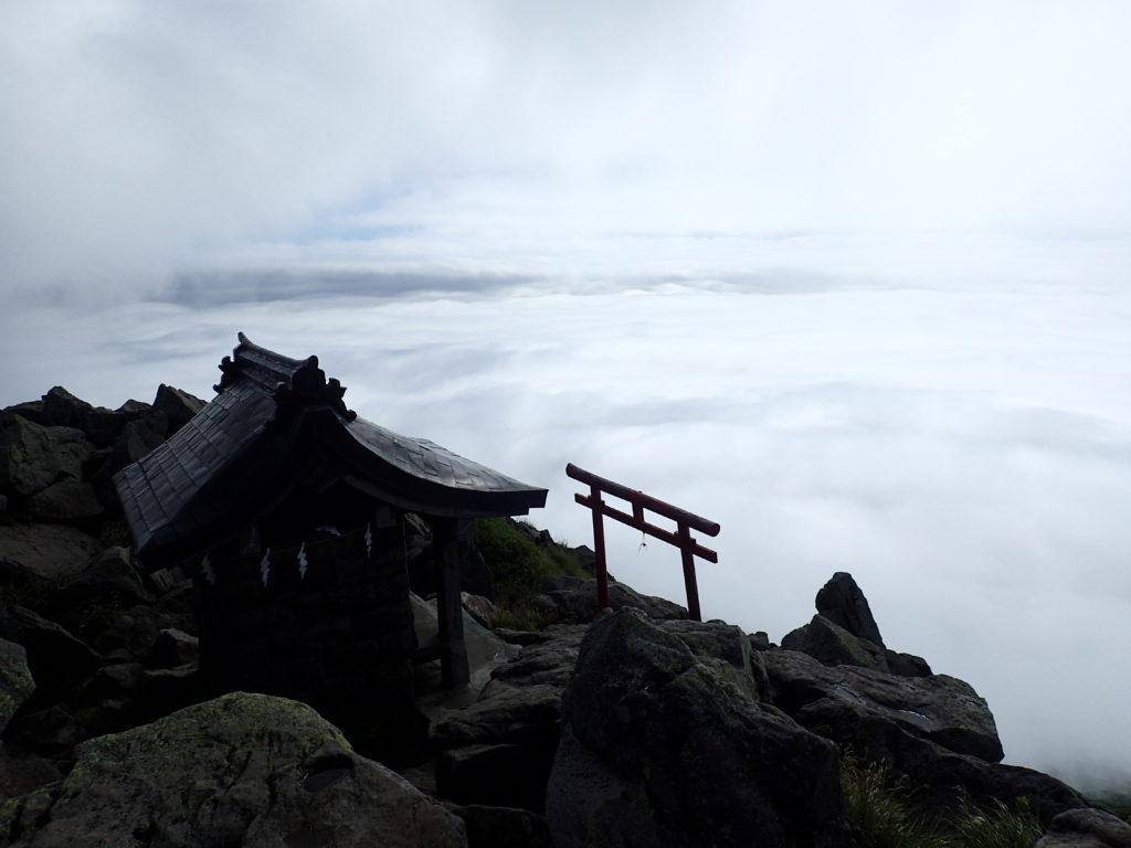 岩木山神社奥宮