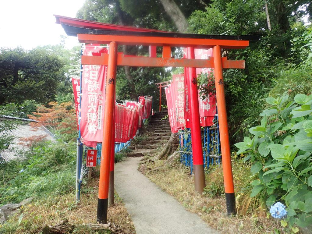 筑波山神社の朝日稲荷神社