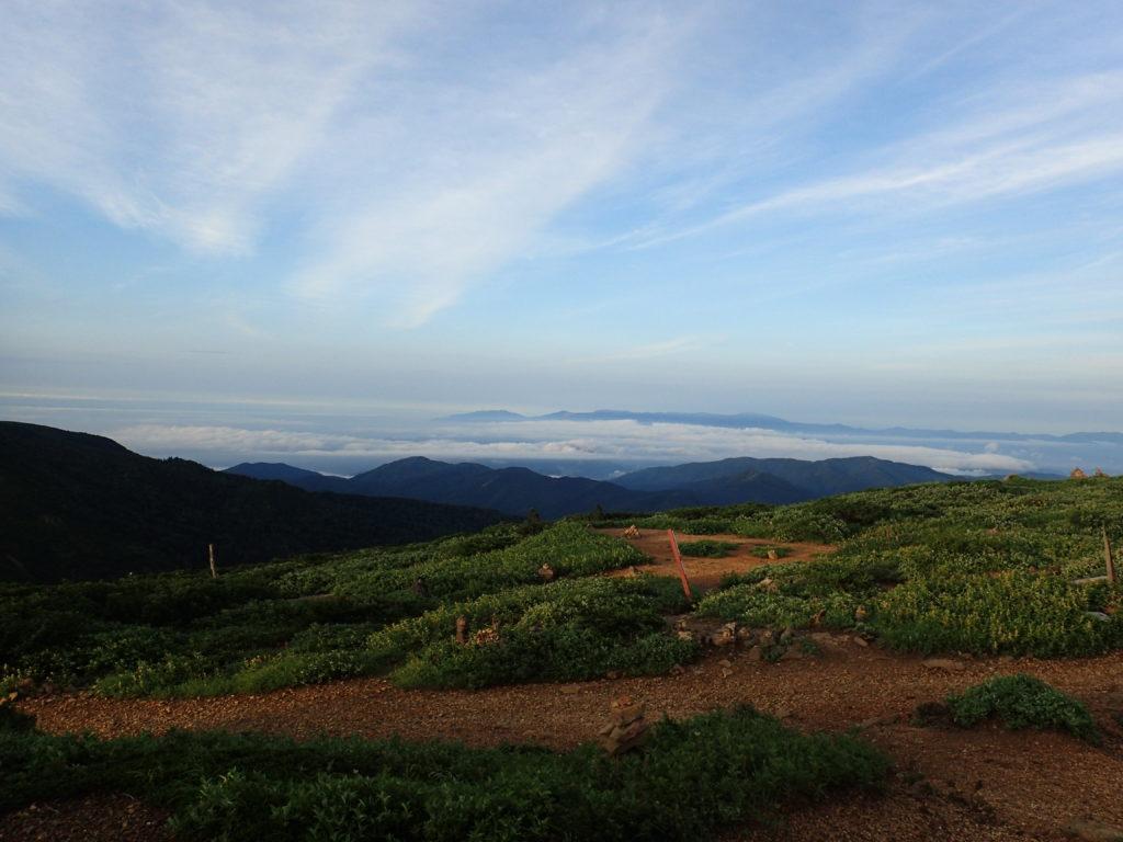 刈田岳山頂からの景色