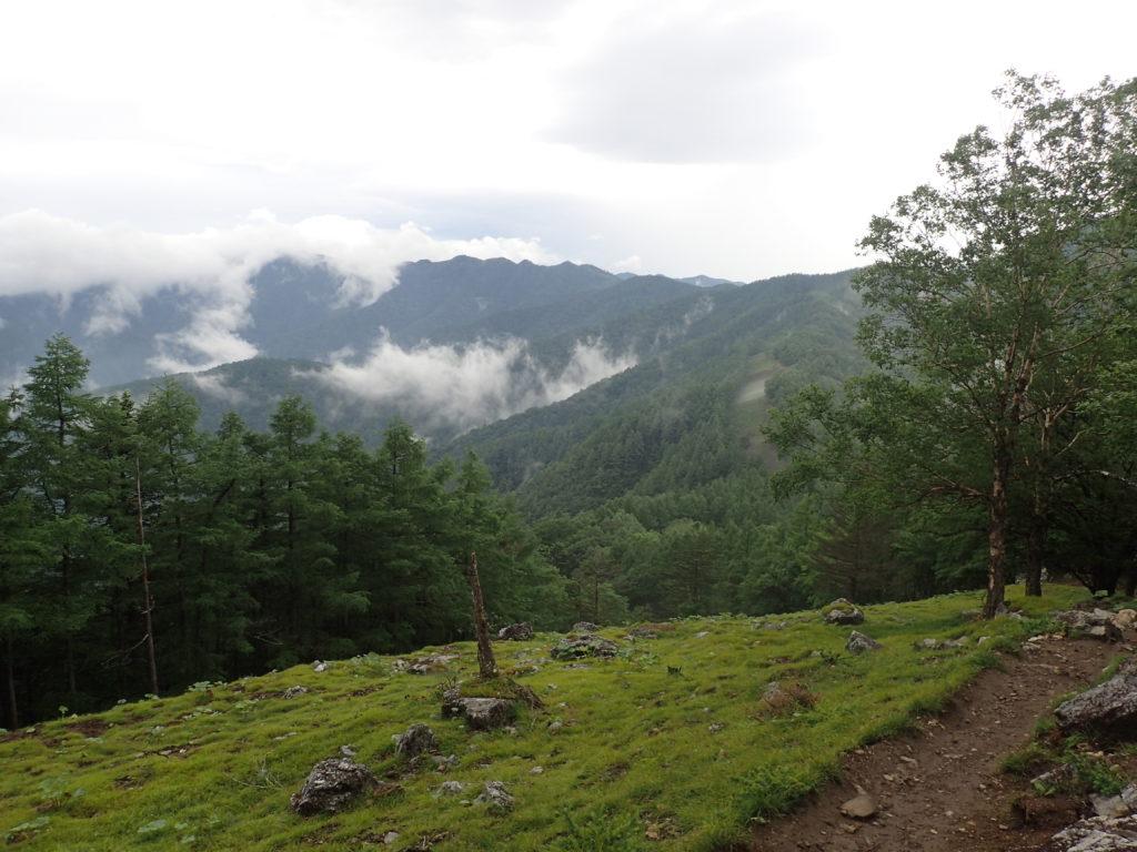 七ツ石山からの展望
