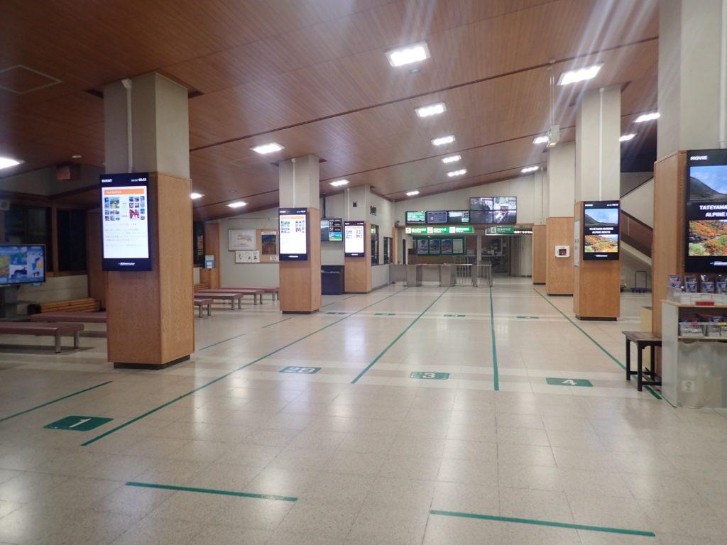 富山地鉄立山線の立山駅