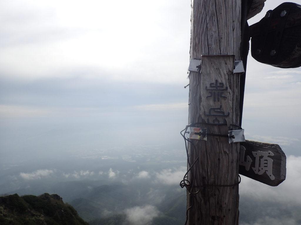 赤岳山頂の標